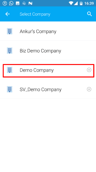 Select Demo Company